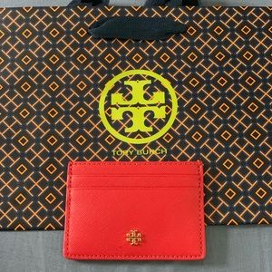 NWT Tory Burch Emerson Slim Credit Card Case